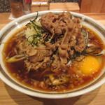 そば王 - 肉そば(温) 790円