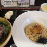 元祖北海道炭焼きイタリアン酒場 炭リッチ - 炙りうにのクリームリゾット