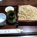 儀平 - 料理写真:『せいろ』(550円)+『大盛り』(150円)=税込700円