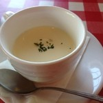 スイートバジル - レガロコース 冷たいコーンスープ