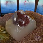 サンサーラ - 料理写真:氏原製菓 水まんじゅう 伊豆高原 旅の駅