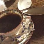 ROQUEFORT CAFE - セットのコーヒーはフレンチ☆ すごく久しぶりに行ったけど、変わらずいい雰囲気で落ち着く♡