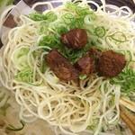 極麺 - 濃厚カレーつけ麺