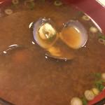 29374235 - 十三湖のシジミの味噌汁