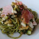 29374299 - 夏野菜とハーブソースの冷製パスタ