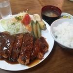 たつ - カツ定食1200円≪2014年7月≫