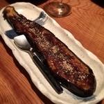 とうふ家三和 - 「茄子田楽(480円)」はこの日食べた中で唯一の非・豆腐系料理。この日1日で1ヶ月分の豆腐食った感www