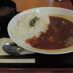 Kushikatsudengana - ランチのとろとろ牛すじカレー