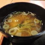 Kushikatsudengana - セットのお味噌汁
