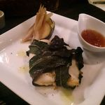 634和浦バル - 鯛の無花果の葉包み焼き
