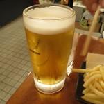立呑処 へそ - ビール