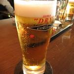 XEX TOKYO / The BAR&Cafe - エクストラコールドスーパードライ