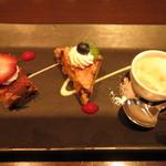 XEX TOKYO / The BAR&Cafe - デザート盛り合わせ