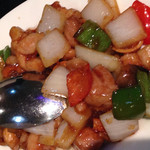 上海台所 - 鶏肉とカシューナッツ炒め