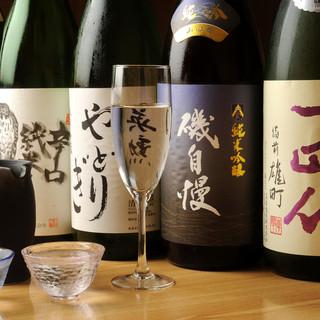日本酒もこだわっております