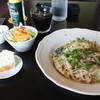 Yuzunohana - 料理写真:厚切りベーコンのペペロンチーノ