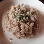 29381145 - 玄米ご飯!スープに良く合います!