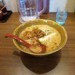 麺場 田所商店 - 九州麦味噌らーめん(756円)
