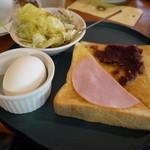 はやみ珈琲店 - 料理写真:無料のモーニング
