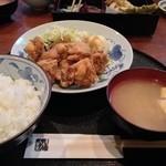経堂らかん茶屋 - 鳥唐定食 なんと680円 7月Ver