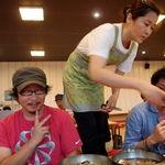 五壮洞咸興冷麺 - ムルレンミョン(水冷麺물냉면) 8000w(約560円)                             ピビンネンミョン(唐辛子みそのタレで食べる冷麺비빔냉면) 8000w(約560円)