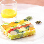 Le Salon de Legumes - 料理写真:【野菜だけの特製レギュームテリーヌ】