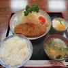 香梅 - 料理写真:(上)ロースとんかつ定食