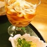 和ビストロ 桂 - 焼き魚御膳(冷やしうどん)