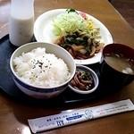 谺 - Aランチ☆豚ロースしょうが焼き☆税込700円(2014/7某日)