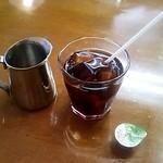谺 - Aランチのアイスコーヒー(2014/7)