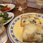 29395944 - ゴルゴンゾーラのピザ