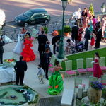 Hôtel de Paris Monte-Carlo - 中庭で結婚式をやってました