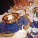 Hôtel de Paris Monte-Carlo - 何と言ってもカトラリーが金というのが凄いですね