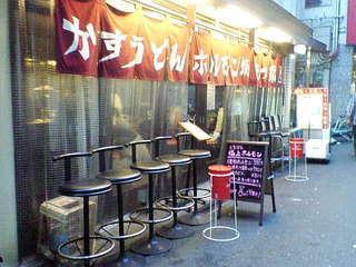焼肉ホルモン 龍の巣 梅田店本館 - 入り口