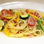 セントベーネ - 生ハムと夏野菜のスパゲッティ