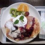タイムカフェ - パンケーキ