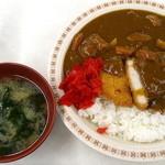 札幌市役所本庁舎食堂 - カツカレー_550円