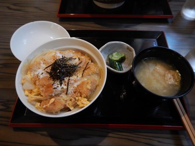 藤亭 - カツ丼