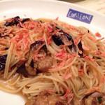 コルレオーネ - 桜エビとナスの冷製スパゲティーニ