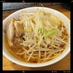 らーめん影武者 - ちょい辛らーめん  800円2014.08.03