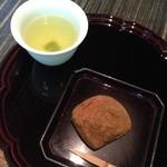 柚子屋旅館 - デザートの黒糖蕨餅