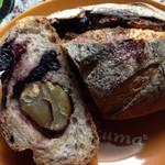inoue - 栗とブルーベリーのパン。