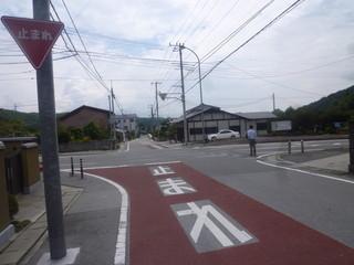 台ヶ原金精軒 - ここを左に曲がると市営の駐車場があります。 案内してくれたお兄さんが優しかったです。