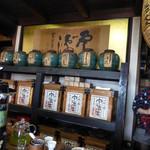 寺島屋弥兵衛商店 - 店内もレトロで、良い雰囲気♪