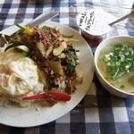 29418527 - 牛肉のバジル炒めご飯¥980 ※税込価格