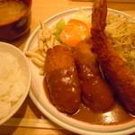 洋食屋 双平 - ミックス定食900円♪