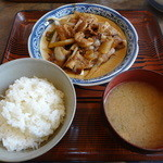 ふくろ茶屋 - 料理写真:焼肉定食
