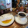 ヨーロピアン - 料理写真:レアチーズケーキセット