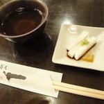 一 - 山芋の短冊【2014.07.17再訪】