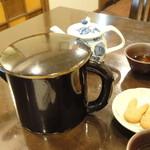 一 - 蕎麦湯:たっぷり大容量♪【2014.07.17再訪】